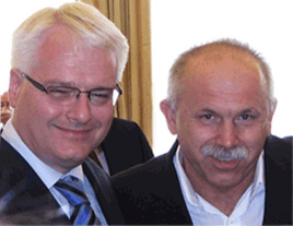 Rade Nekić i Ivo Josipović